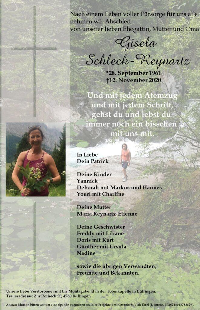 Gisela Schleck-Reynartz