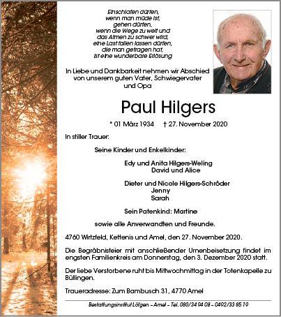 Paul Hilgers