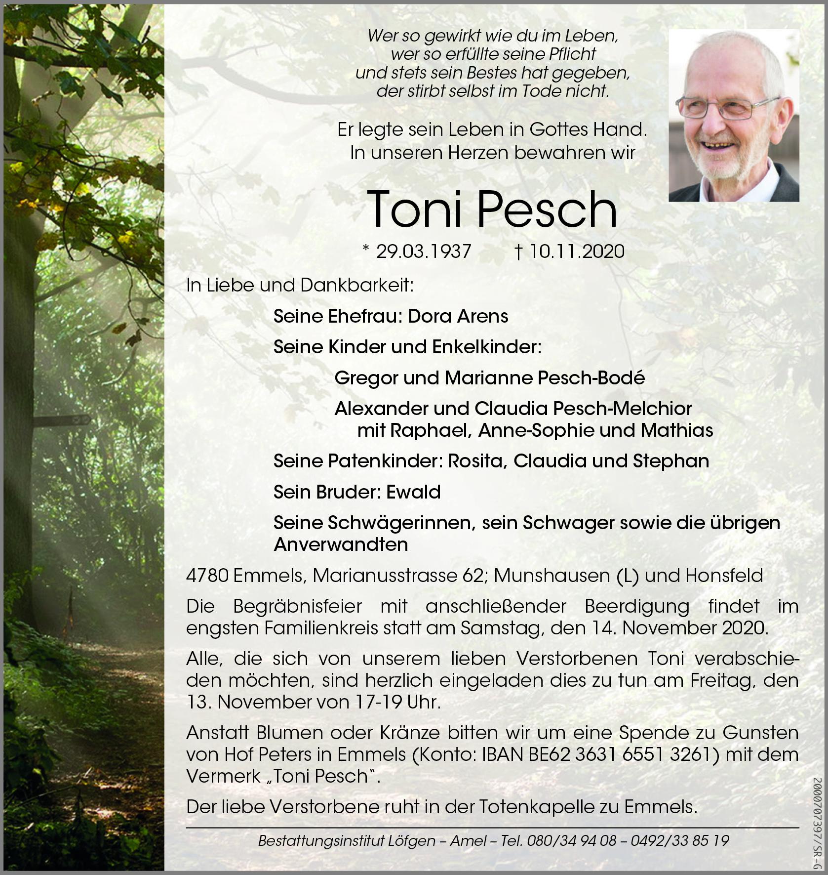 Toni Pesch