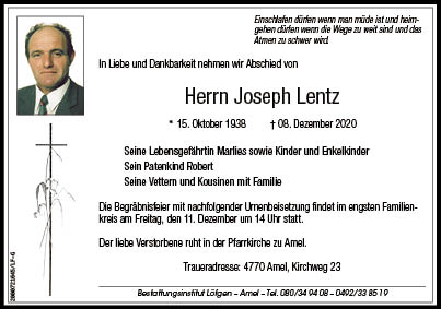 Joseph Lentz