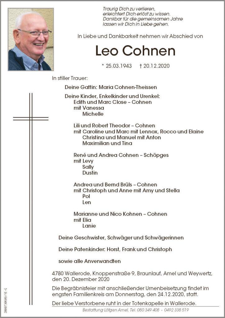 Leo Cohnen