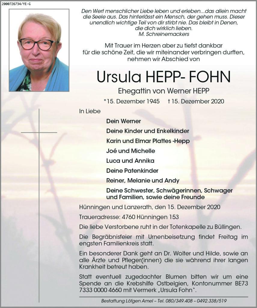 Ursula Hepp-Fohn