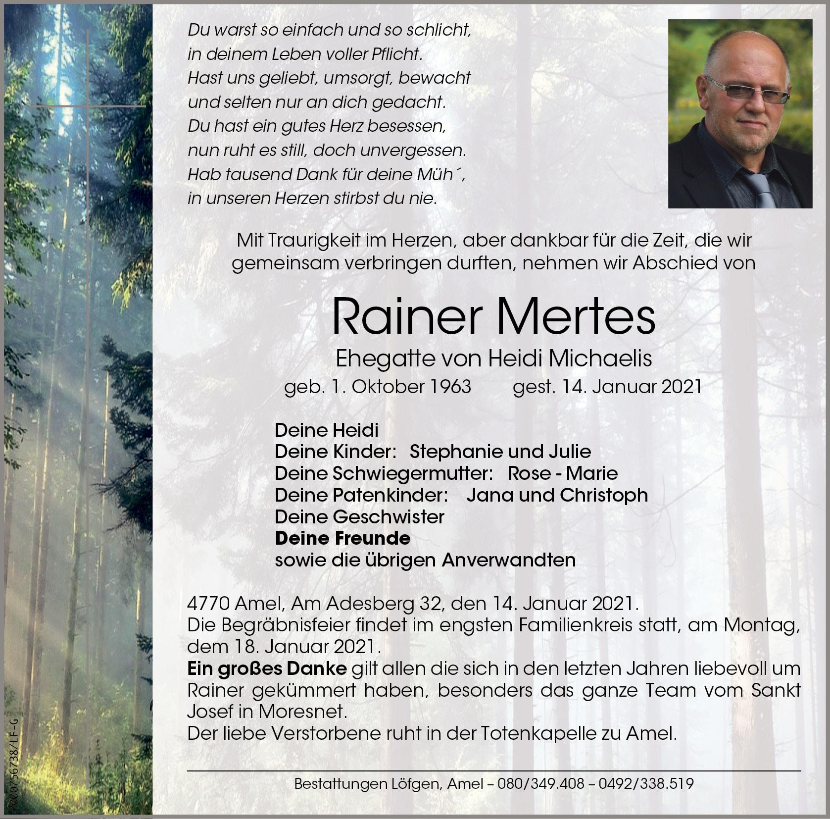 Rainer Mertes
