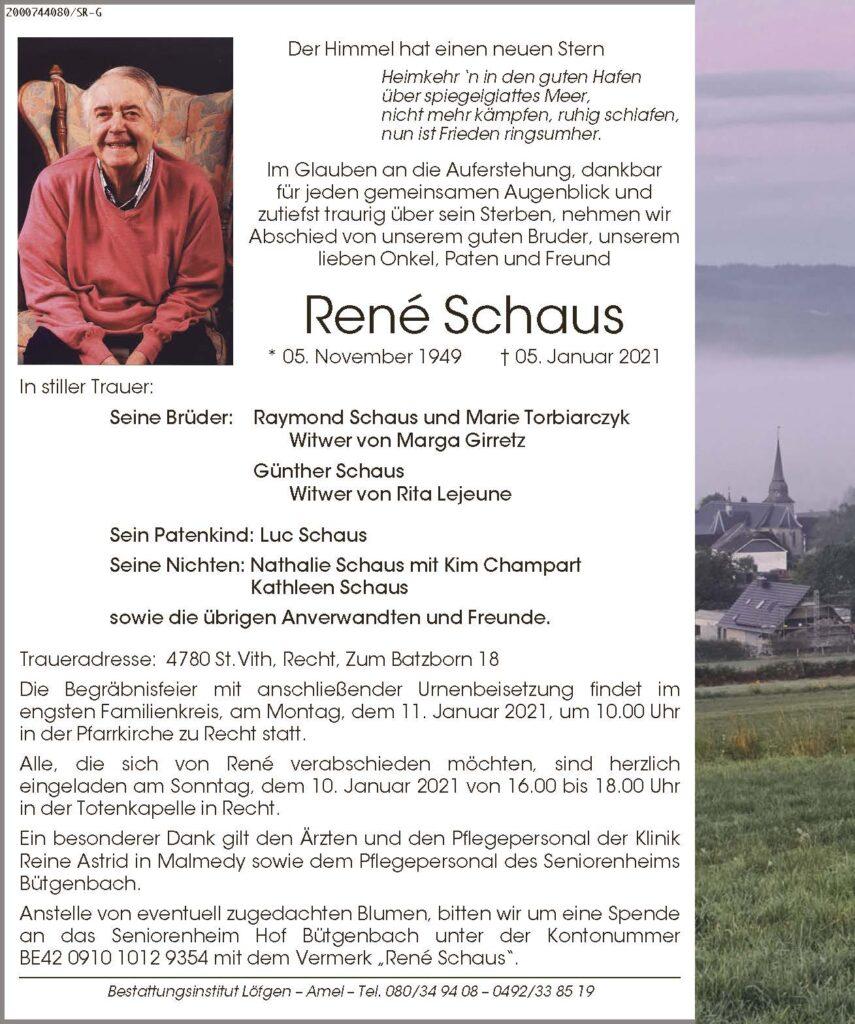 René Schaus