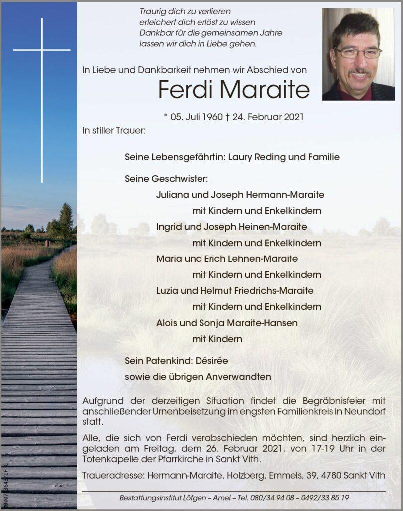 Ferdi Maraite