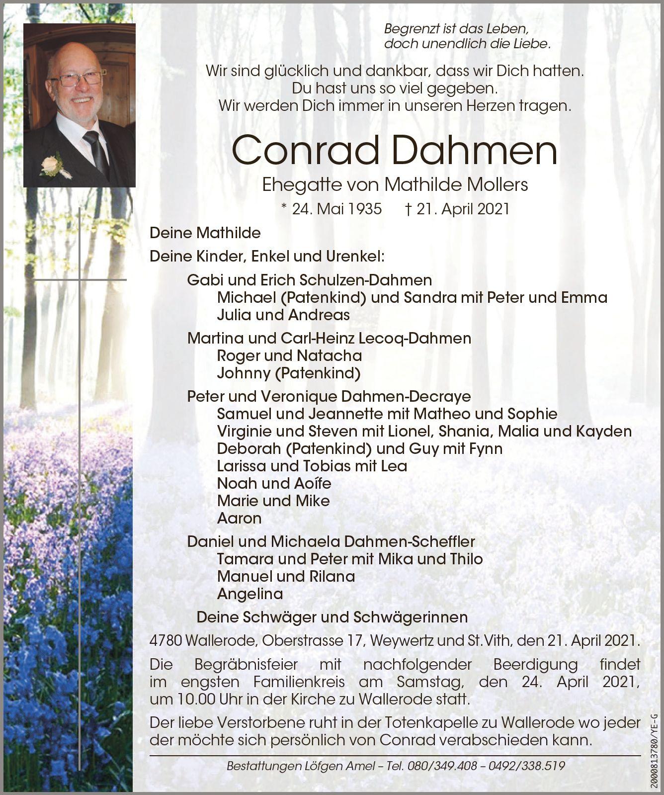 Conrad Dahmen