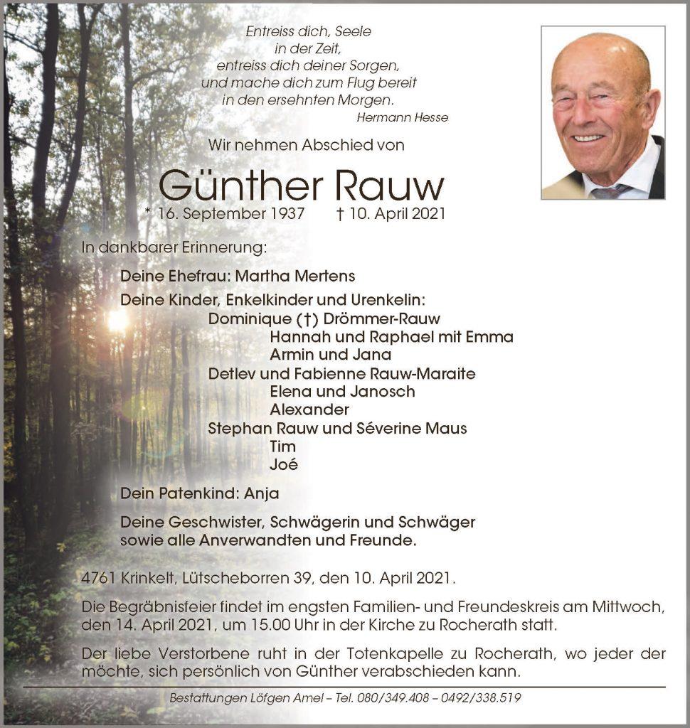 Günther Rauw