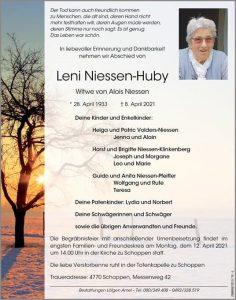Leni Niessen