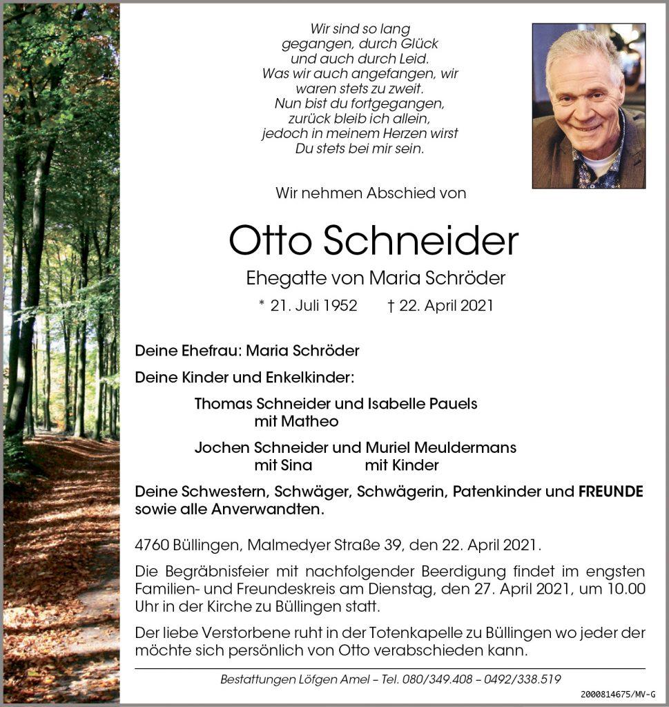 Otto Schneider