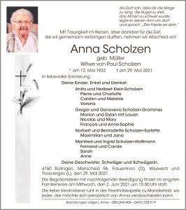 Anna Scholzen