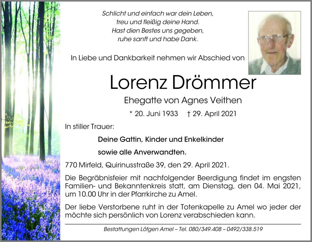 Lorenz Drömmer