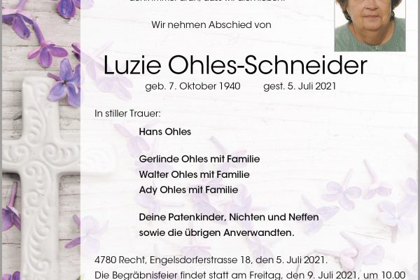 Luzie Ohles-Schneider