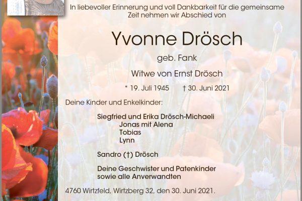 Yvonne Drösch