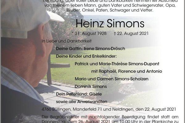 Heinz Simons
