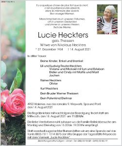 Lucie Heckters