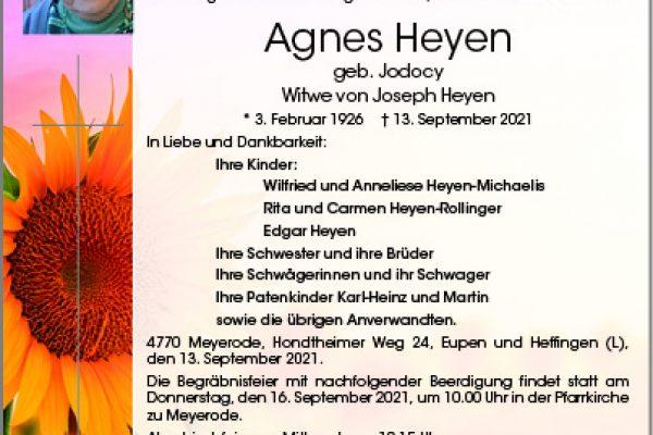 Agnes Heyen