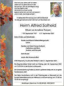 Alfred Solheid