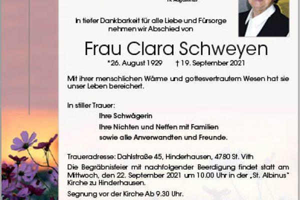 Clara Schweyen